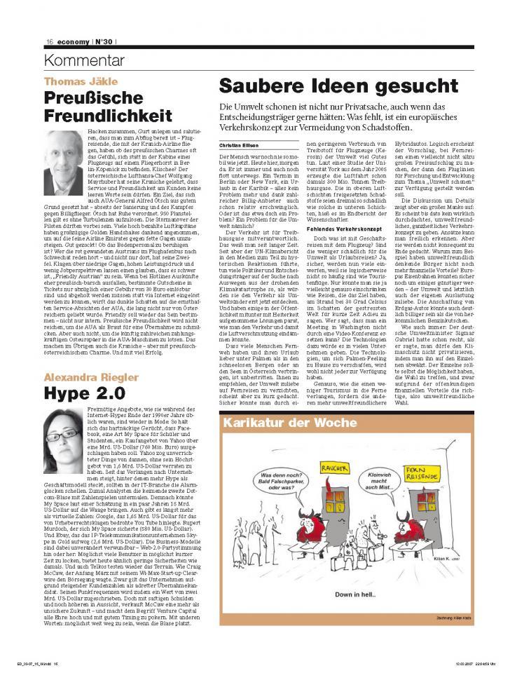 Heft Ausgabe Nr. 30 - Seite 16