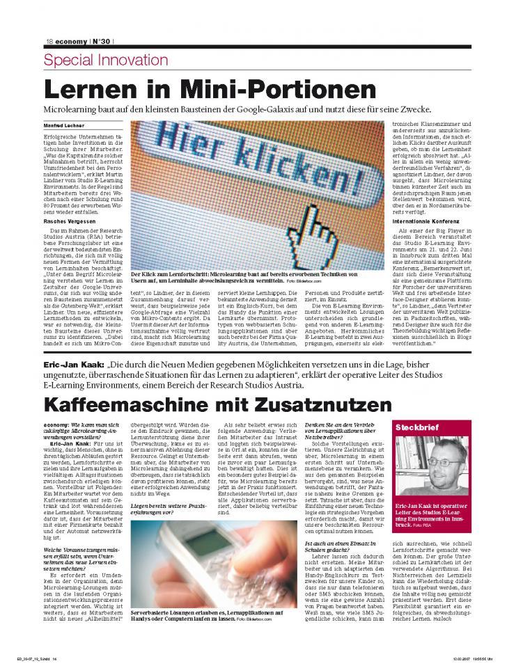 Heft Ausgabe Nr. 30 - Seite 18