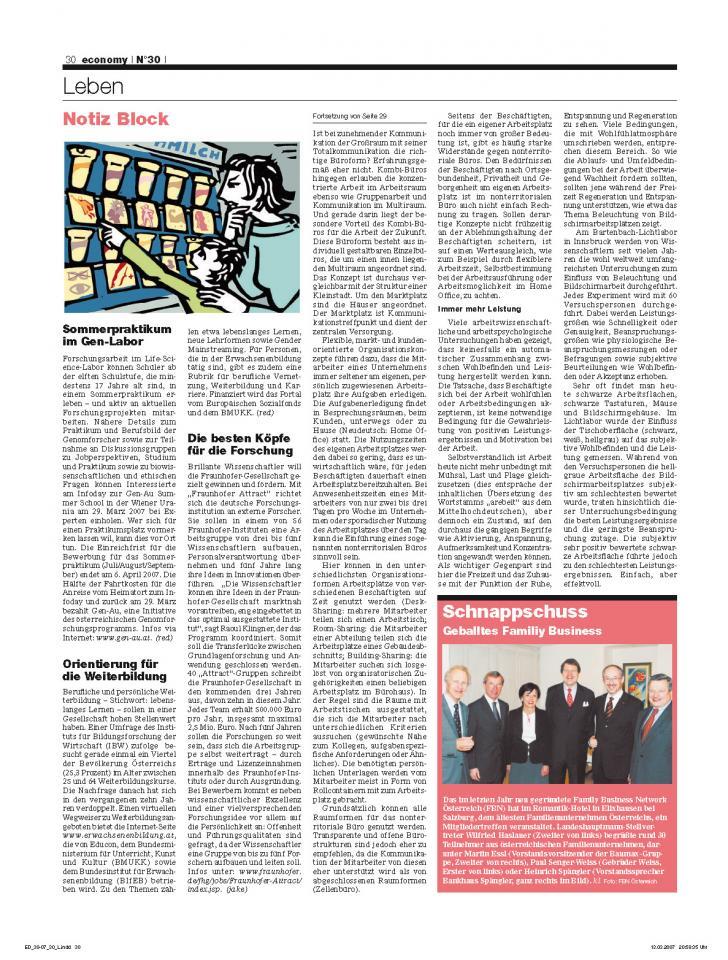 Heft Ausgabe Nr. 30 - Seite 30