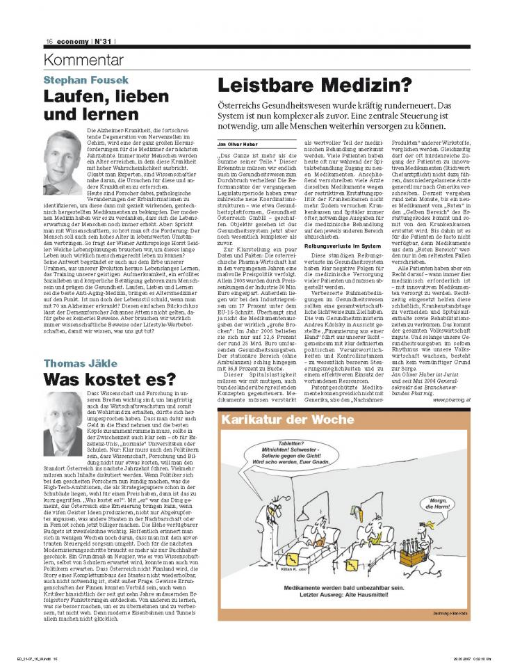 Heft Ausgabe Nr. 31 - Seite 16