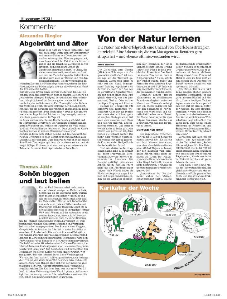 Heft Ausgabe Nr. 32 - Seite 16