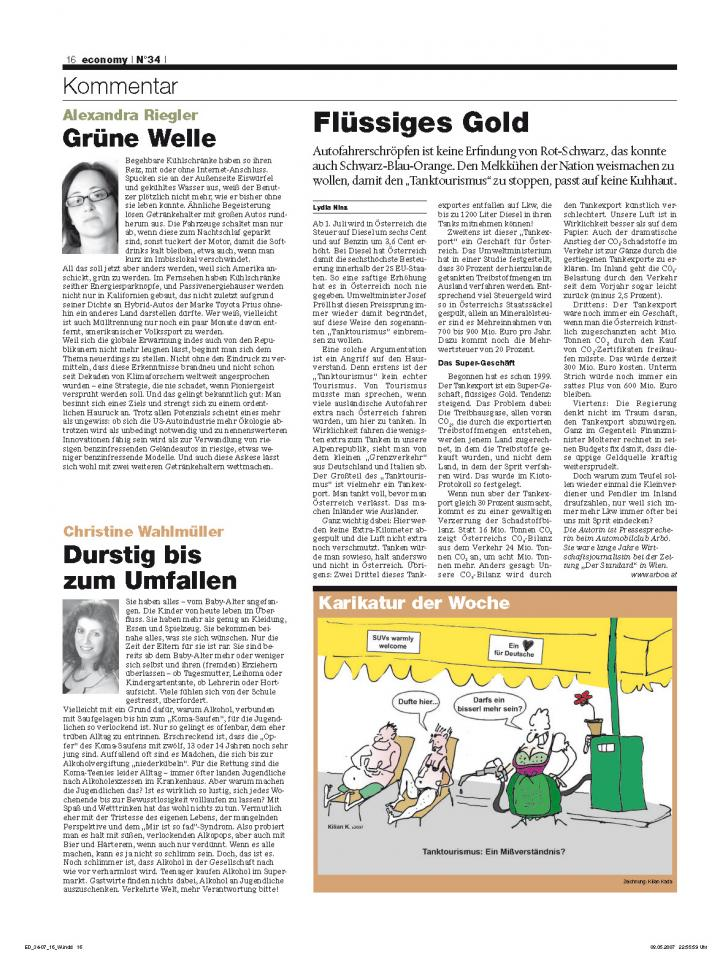 Heft Ausgabe Nr. 34 - Seite 16