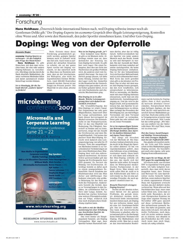 Heft Ausgabe Nr. 36 - Seite 8