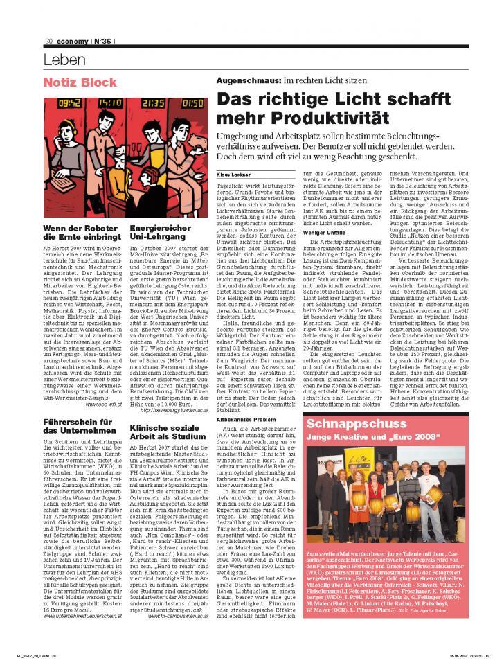 Heft Ausgabe Nr. 36 - Seite 30