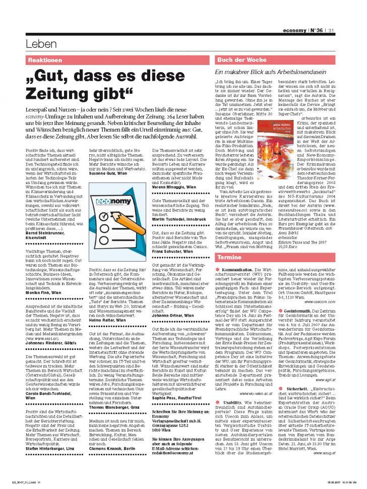 Heft Ausgabe Nr. 36 - Seite 31