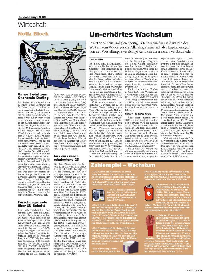 Heft Ausgabe Nr. 39 - Seite 14