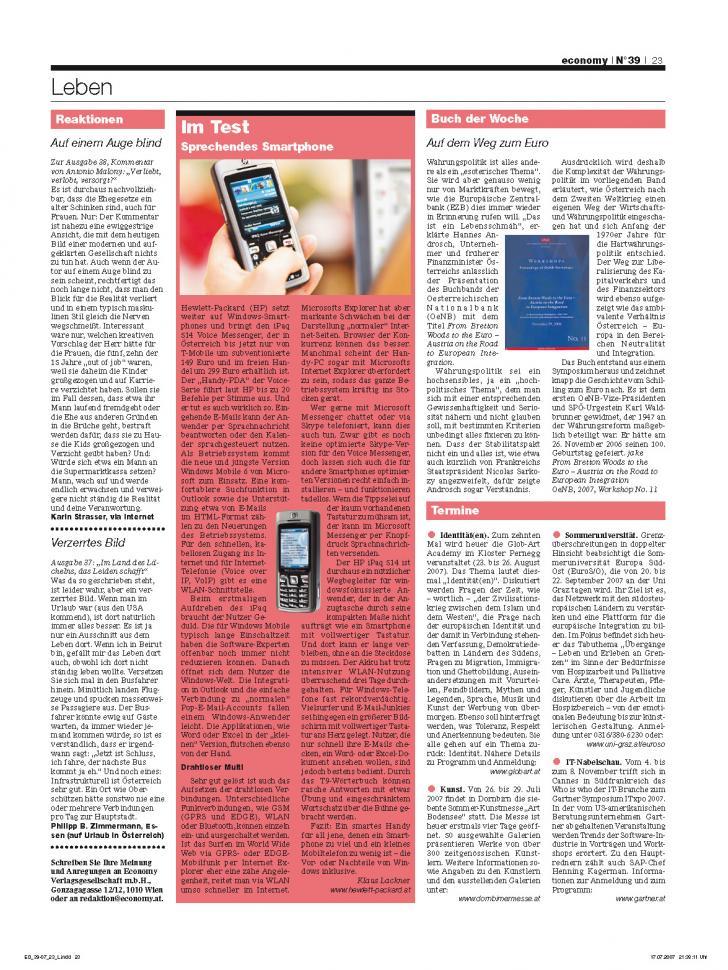 Heft Ausgabe Nr. 39 - Seite 23