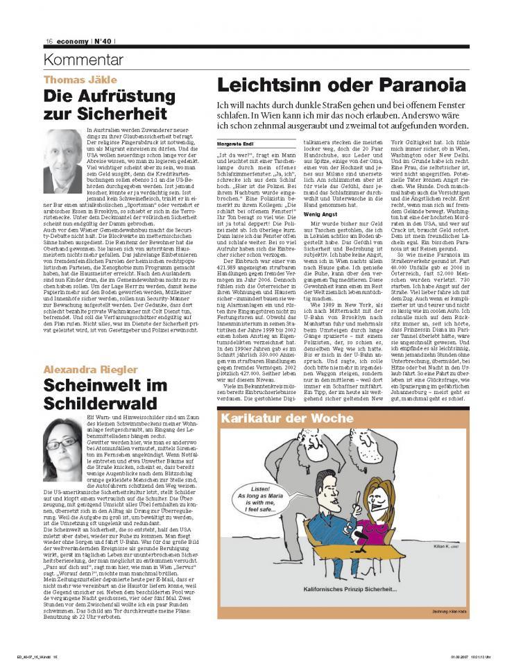 Heft Ausgabe Nr. 40 - Seite 16