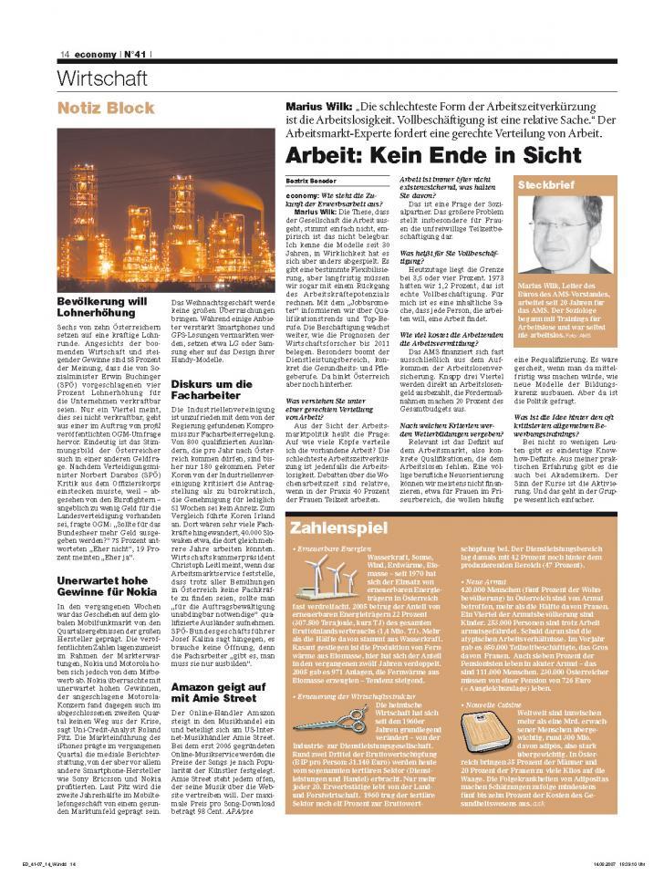 Heft Ausgabe Nr. 41 - Seite 14