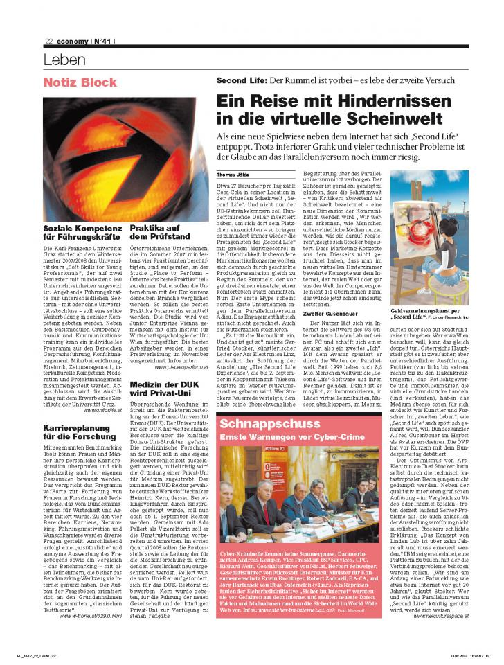 Heft Ausgabe Nr. 41 - Seite 22