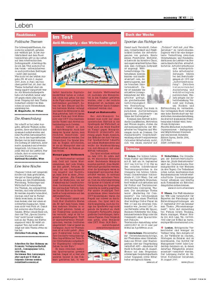Heft Ausgabe Nr. 41 - Seite 23
