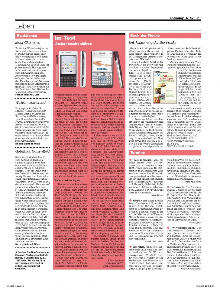 Heft Ausgabe Nr. 42 - Seite 23