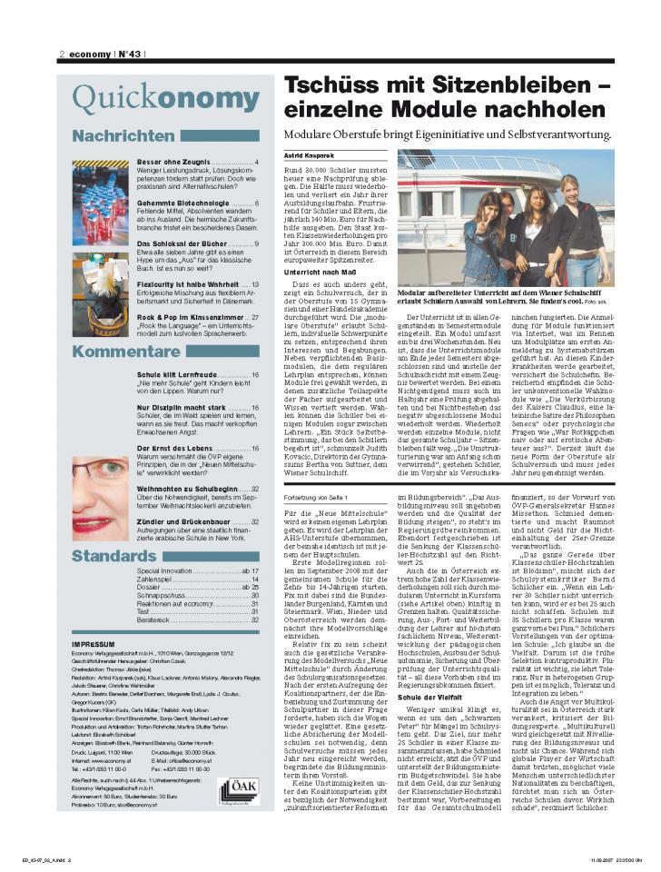 Heft Ausgabe Nr. 43 - Seite 2