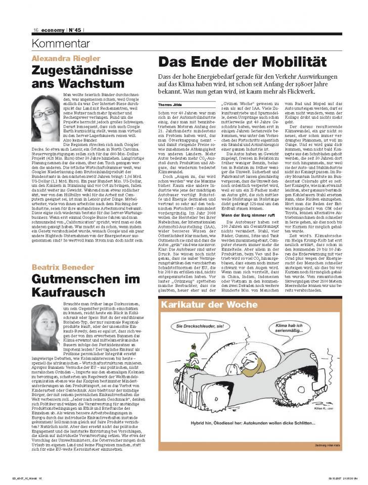 Heft Ausgabe Nr. 45 - Seite 16