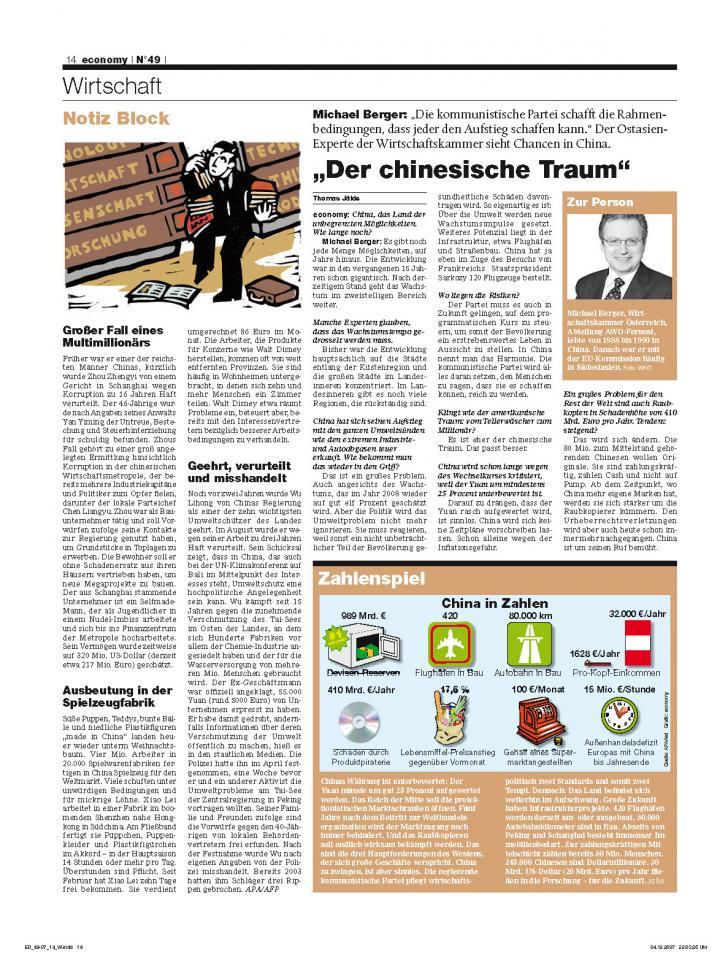 Heft Ausgabe Nr. 49 - Seite 14