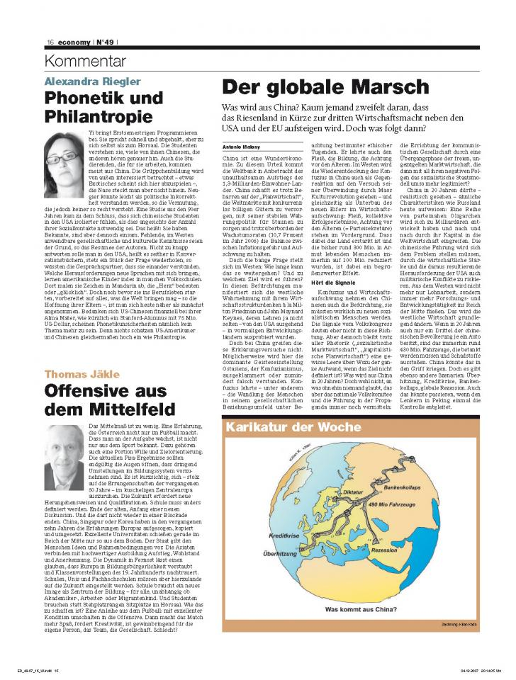 Heft Ausgabe Nr. 49 - Seite 16