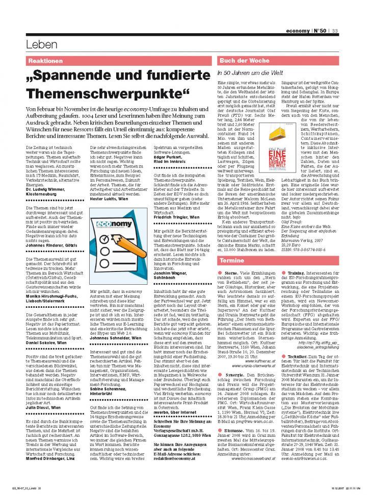 Heft Ausgabe Nr. 50 - Seite 33