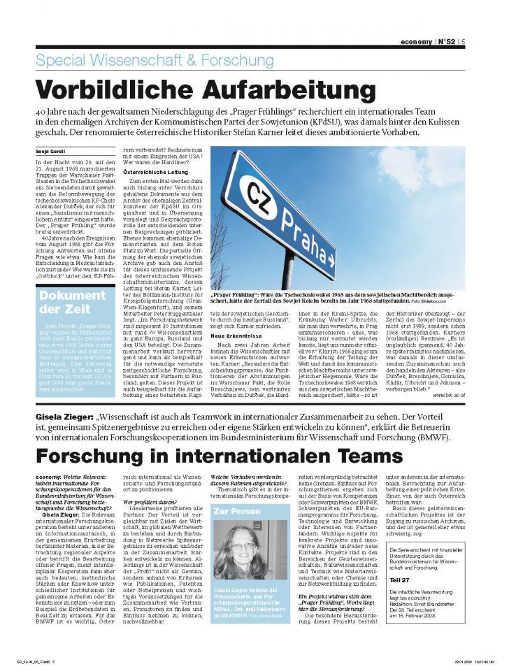 Heft Ausgabe Nr. 52 - Seite 5