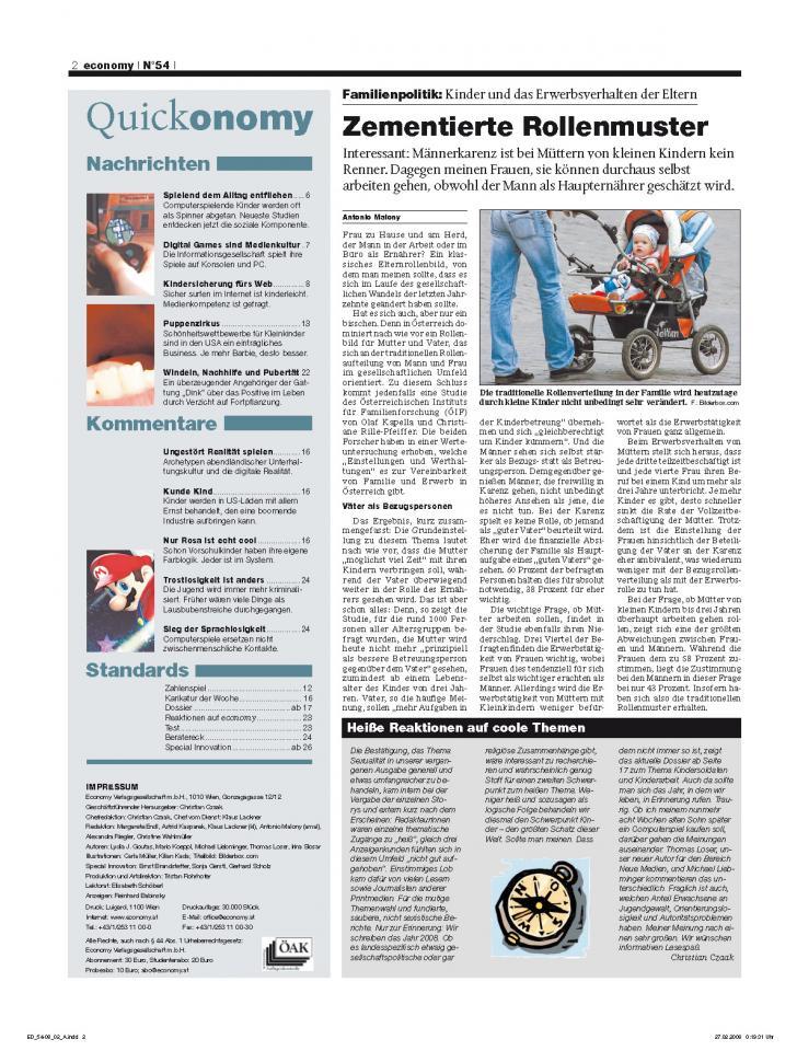 Heft Ausgabe Nr. 54 - Seite 2
