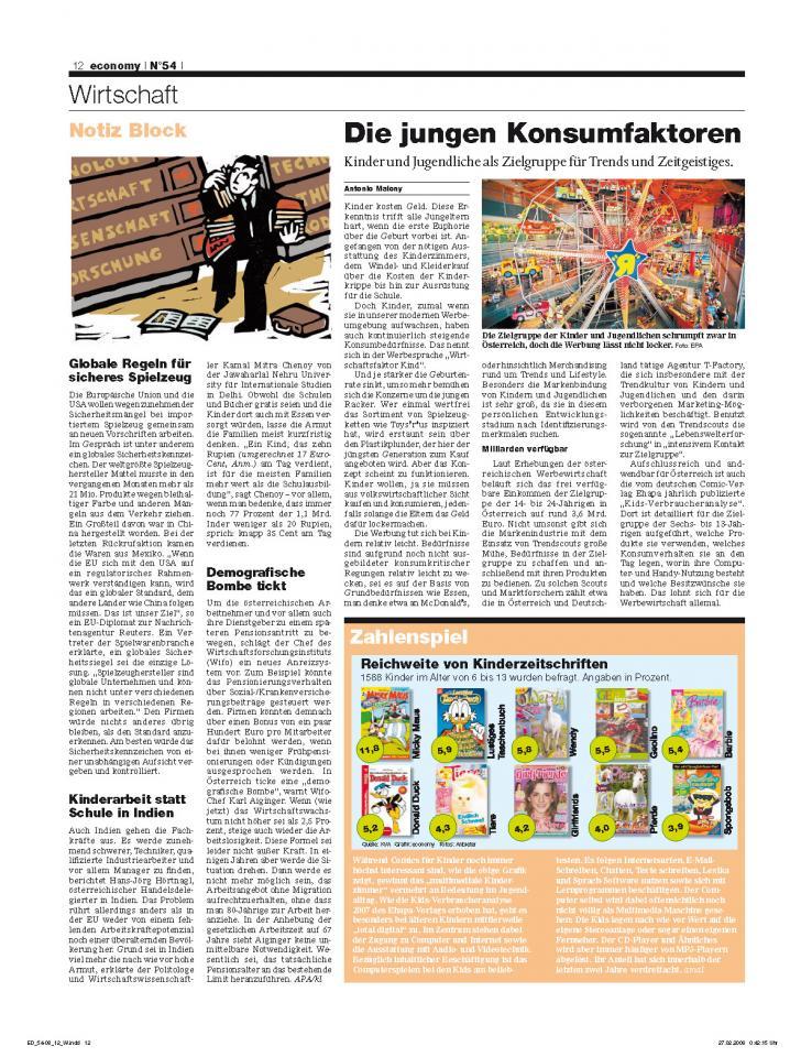 Heft Ausgabe Nr. 54 - Seite 12