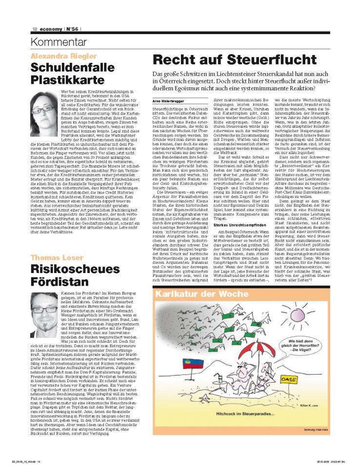Heft Ausgabe Nr. 56 - Seite 18