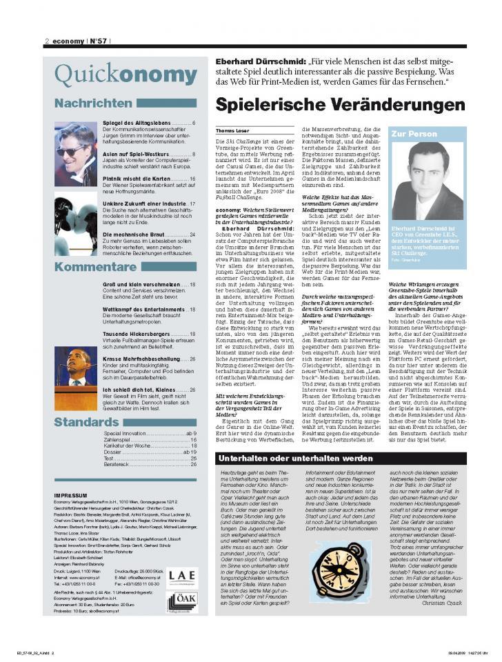 Heft Ausgabe Nr. 57 - Seite 2