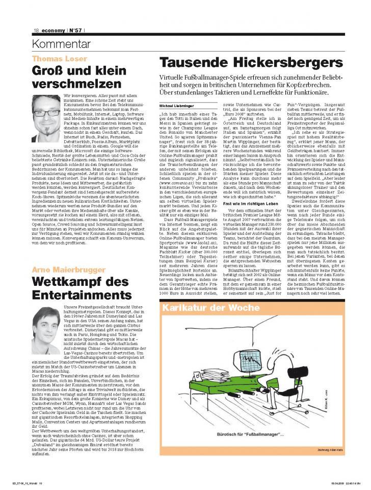 Heft Ausgabe Nr. 57 - Seite 18