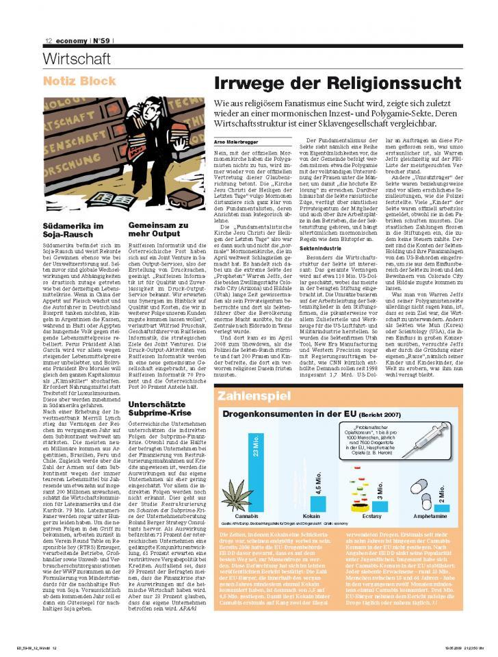 Heft Ausgabe Nr. 59 - Seite 12