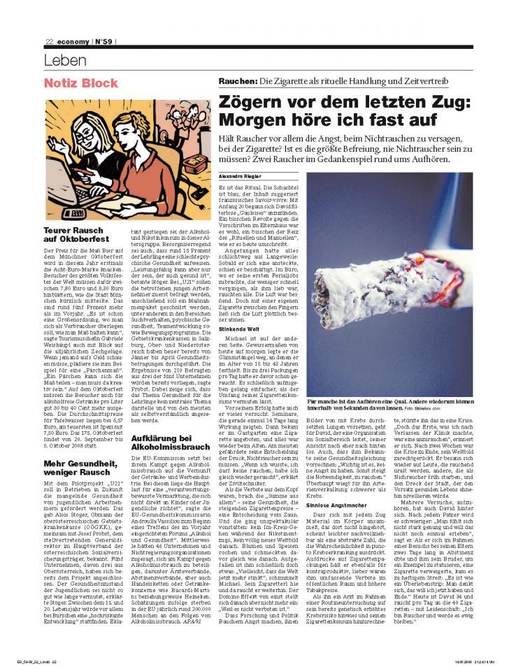 Heft Ausgabe Nr. 59 - Seite 22