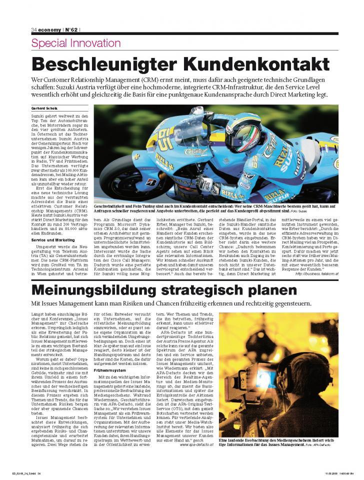 Heft Ausgabe Nr. 62 - Seite 34