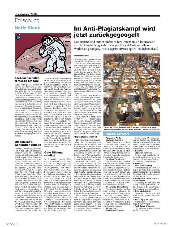 Heft Ausgabe Nr. 63 - Seite 8