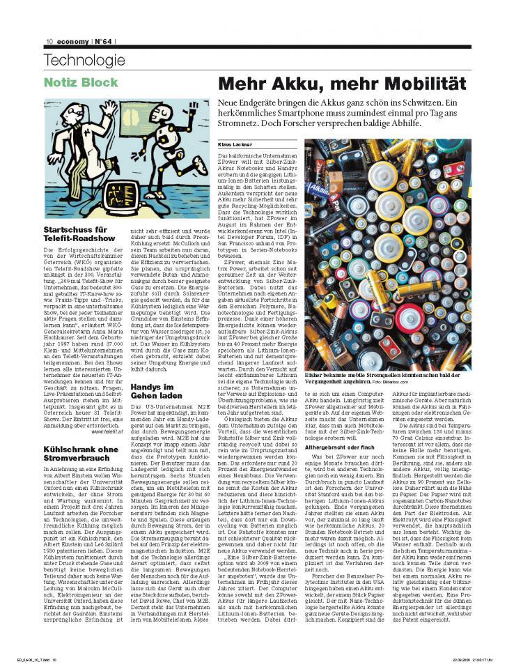 Heft Ausgabe Nr. 64 - Seite 10