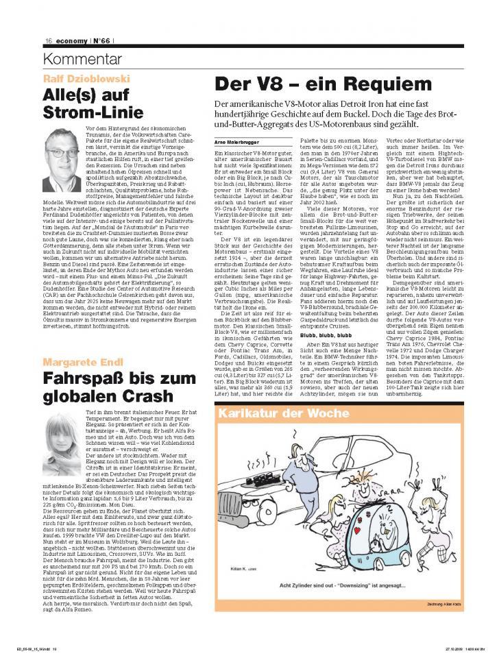 Heft Ausgabe Nr. 66 - Seite 16