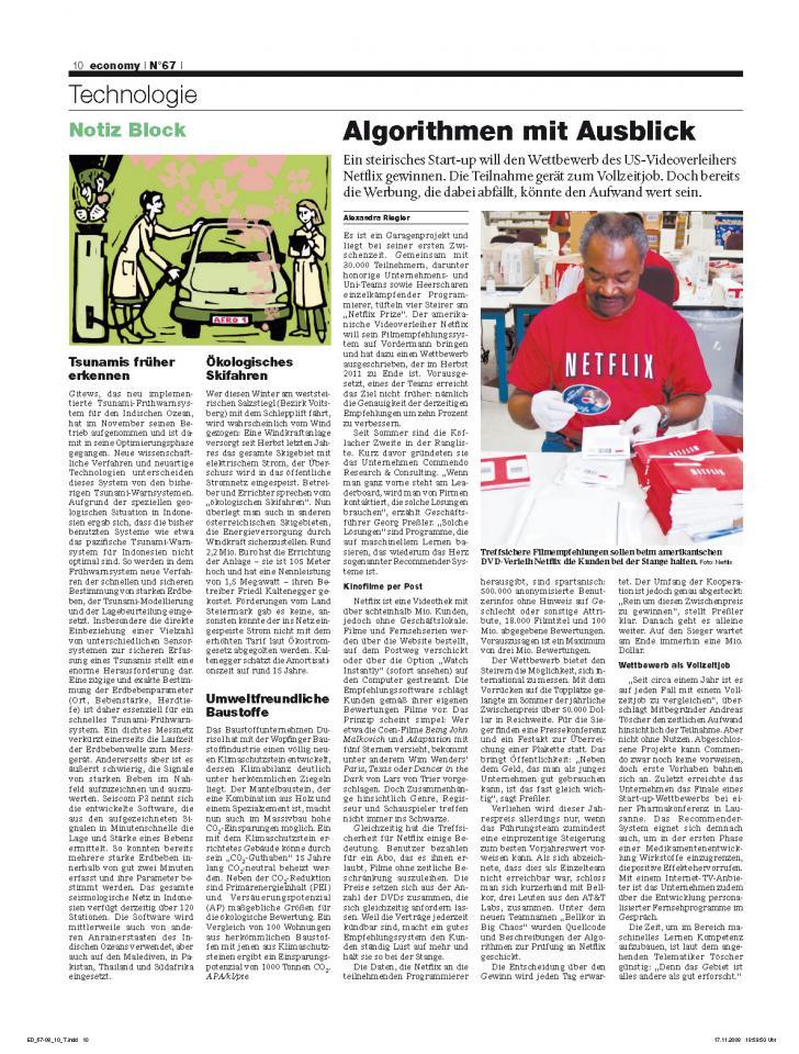 Heft Ausgabe Nr. 67 - Seite 10