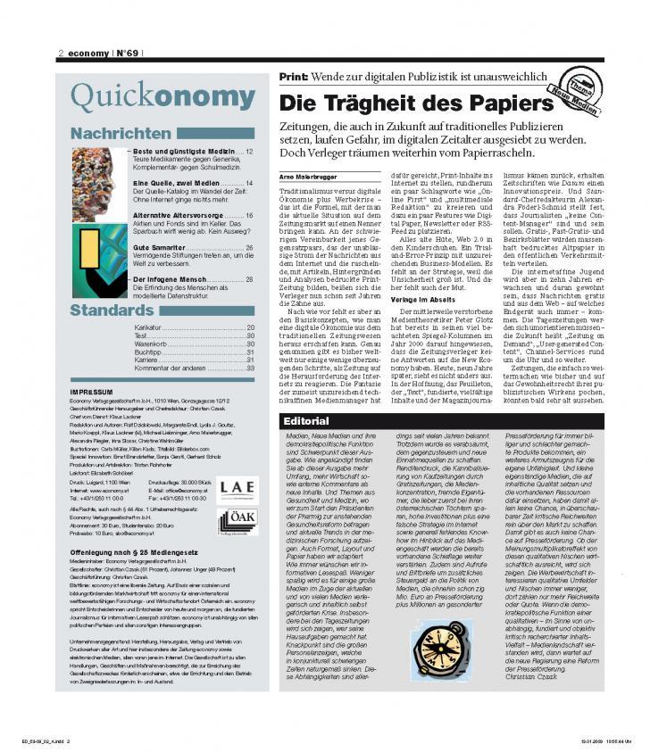 Heft Ausgabe Nr. 69 - Seite 2