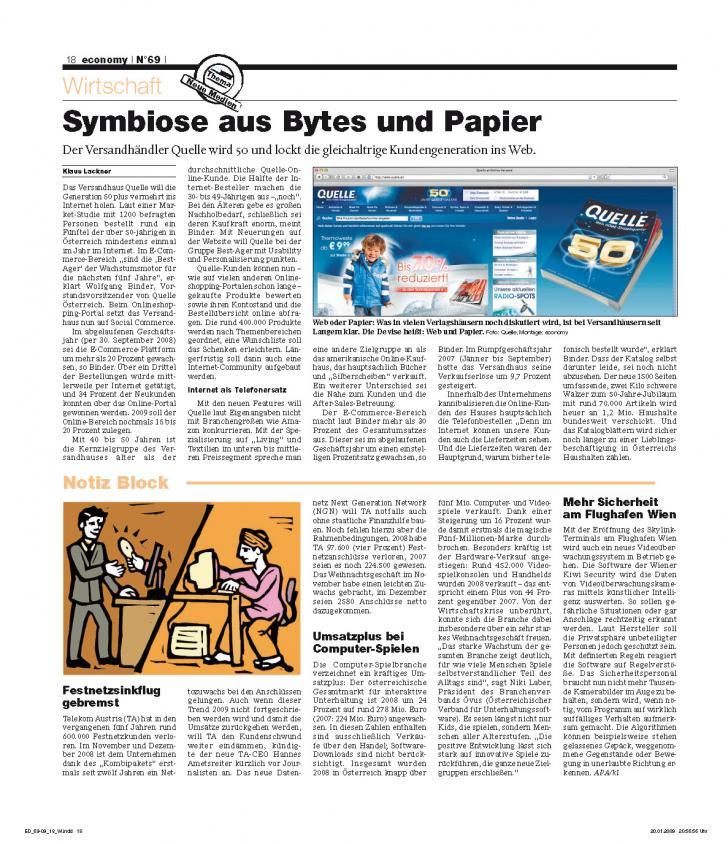 Heft Ausgabe Nr. 69 - Seite 18