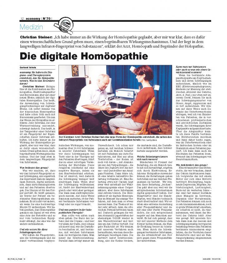 Heft Ausgabe Nr. 70 - Seite 12