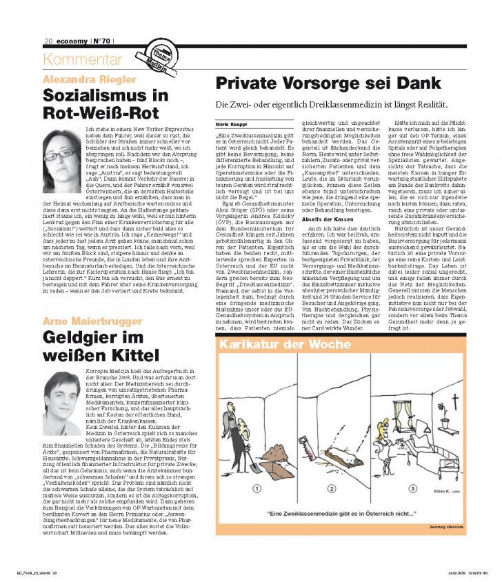 Heft Ausgabe Nr. 70 - Seite 20