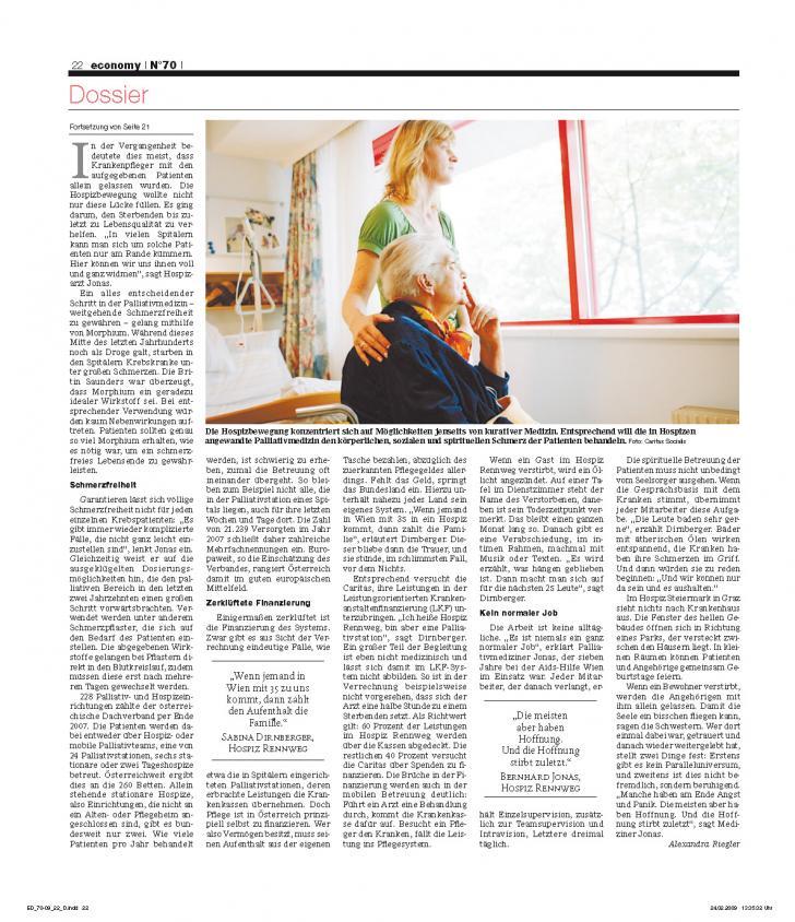 Heft Ausgabe Nr. 70 - Seite 22