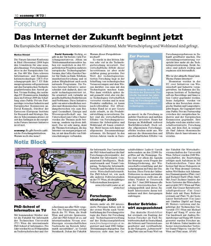 Heft Ausgabe Nr. 73 - Seite 10