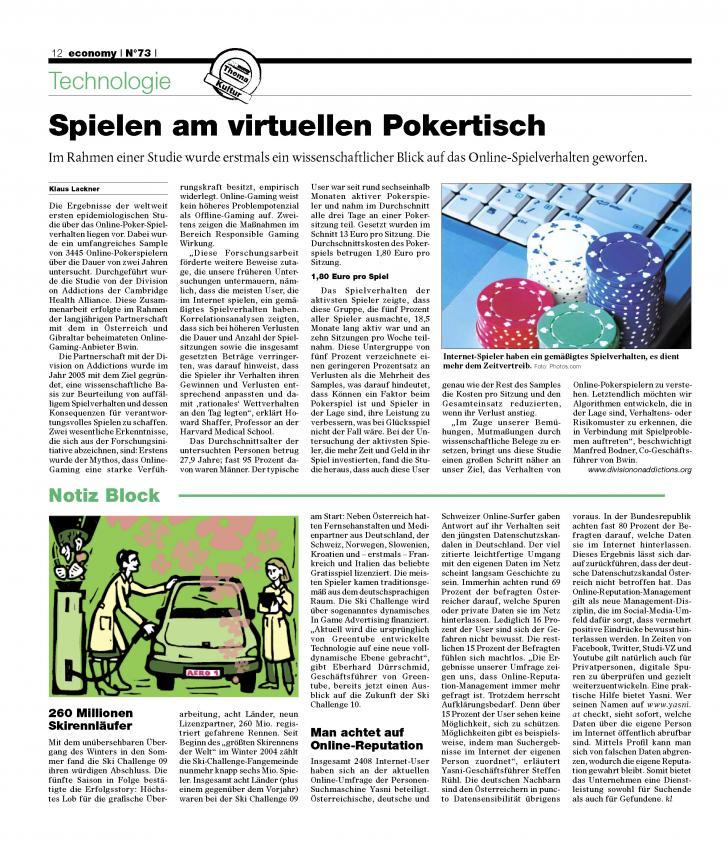 Heft Ausgabe Nr. 73 - Seite 12