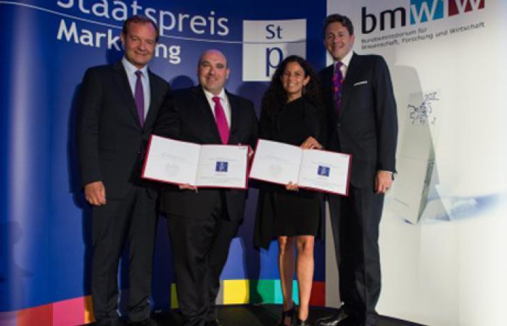 Create Connections gewinnt Staatspreis Marketing 2015