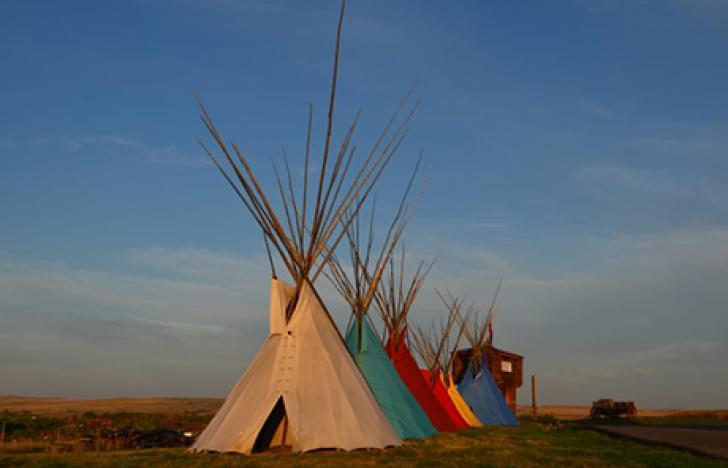 Leben wie die Indianer