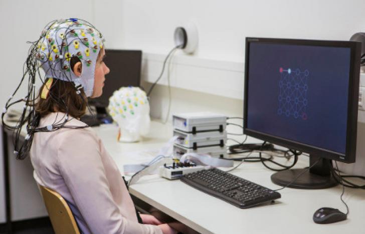 Computer-Gehirn-Schnittstelle zum Aufsetzen