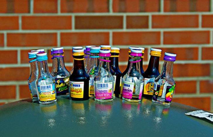 Teenagern springen auf Alkoholwerbung an