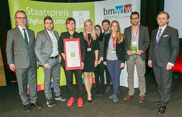 Erstmals Staatspreis Digital Solutions vergeben