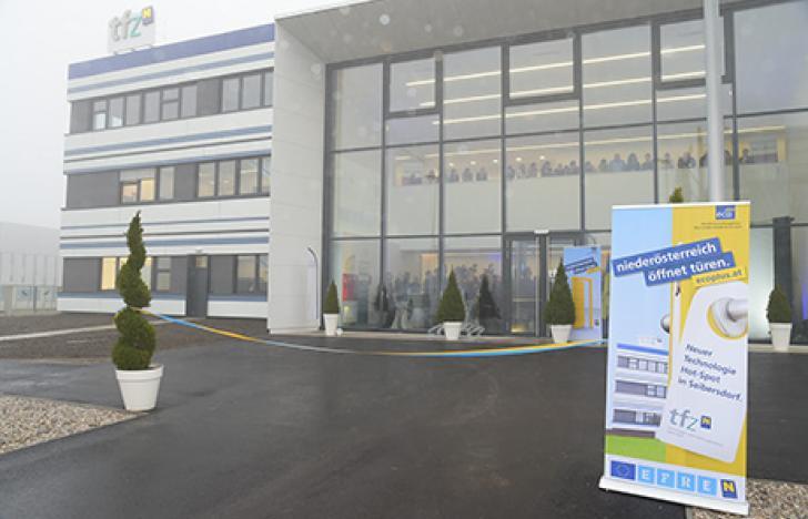 Neues Wissenschaftszentrum im Niederösterreichischen Seibersdorf