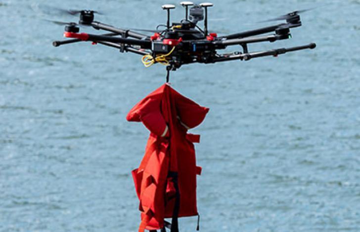 Drohnen übernehmen Rettungseinsätze